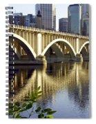 0333 3rd Avenue Bridge Minneapolis Spiral Notebook