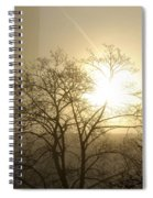 04 Foggy Sunday Sunrise Spiral Notebook