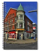 04 Main Food Market Early Morning Spiral Notebook