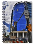 04 W Chipp And Delaware Construction  Spiral Notebook