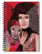 047  Friendship - To Lean On  V Spiral Notebook