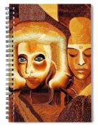 053 - Golden People V Spiral Notebook