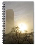 06 Foggy Sunday Sunrise Spiral Notebook