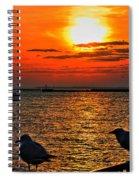 06 Sunset Series Spiral Notebook