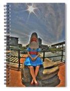 07 Shark Girl Spiral Notebook