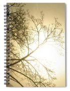 08 Foggy Sunday Sunrise Spiral Notebook