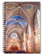 0957 Basilica Of Saint Francis Of Assisi Spiral Notebook