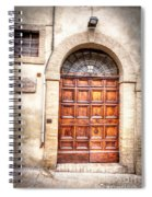 0959 Assisi Italy Spiral Notebook