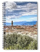0960 Florence Italy Spiral Notebook