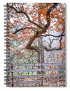 0981 Fall Colors At Starved Rock State Park Spiral Notebook