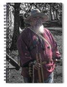 Battle Of Honey Springs V8 Spiral Notebook