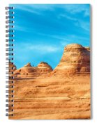 Famous Delicate Arch In Arches National Park Spiral Notebook