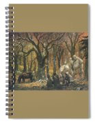 03 Daruma Tc2002 Tn A Song In The Trollshaws Ted Nasmith Spiral Notebook