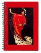 12215 Rafael De Penagos Spiral Notebook