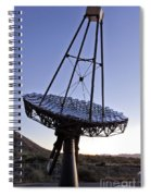 12m Gamma-ray Reflector Telescope Spiral Notebook