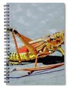15- Lubber Grasshopper Spiral Notebook