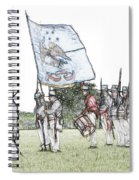 1812 Soldiers Spiral Notebook