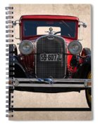 1931 Ford Model A  Spiral Notebook