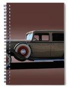 1932 Classic Buick 4 Door Sedan Spiral Notebook