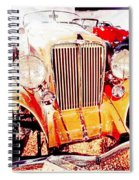 1933 Auburn Classic Automobile Spiral Notebook