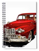 1946 Lincoln Continental Mk I Spiral Notebook