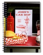 1950's Drive-in Spiral Notebook