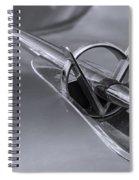 1953 Buick Super Hood Ornament Spiral Notebook