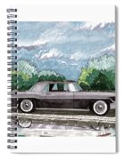 1956  Lincoln Continental Mk II Spiral Notebook