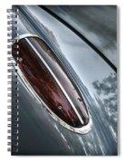 1960 Chevrolet Corvette Taillight Spiral Notebook