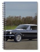 1966 Ford Mustang Coupe I Spiral Notebook