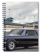 1966 Ford Mustang Coupe II Spiral Notebook