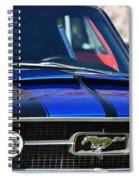 1967 Mustang Fastback Spiral Notebook