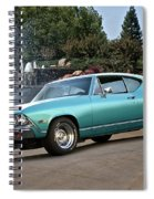 1968 Chevelle Malibu II Spiral Notebook
