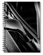 2002 Corvette Ls1 Painted Bw Spiral Notebook