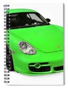 2008 Porsche Cayman S Sport Spiral Notebook