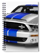 2008 Shelby Ford Gt500kr Spiral Notebook