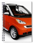 2008 Smart Fortwo City Car Spiral Notebook