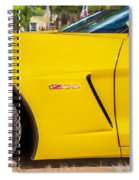 2013 Chevrolet Corvette Zo6 Painted Bw  Spiral Notebook