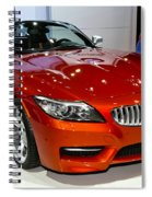 2014 Bmw Z4 Roadster Sdrive35is Spiral Notebook
