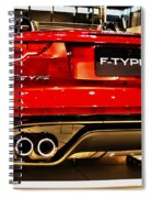 2016 Jaguar F-type Spiral Notebook