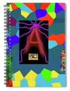 1-3-2016dabcdefghijklmnopqrtuvwxyza Spiral Notebook