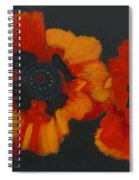 3 Poppies Spiral Notebook
