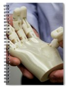 3d Printing, Additive Manufacturing Spiral Notebook