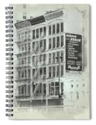 4th St Buildings Spiral Notebook