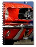 66 Mustang Fastback Spiral Notebook