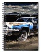 69 Thunderbird Spiral Notebook