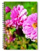 A Beautiful Harvest Spiral Notebook