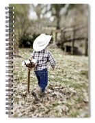 A Boy And His Horse Spiral Notebook