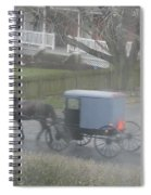 A Buggy Passes By Spiral Notebook