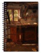 A Carpenter's Workshop Spiral Notebook